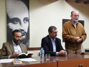 D. José María Sánchez, D. José Pardo de Santayana y D. Fernando Díez Moreno